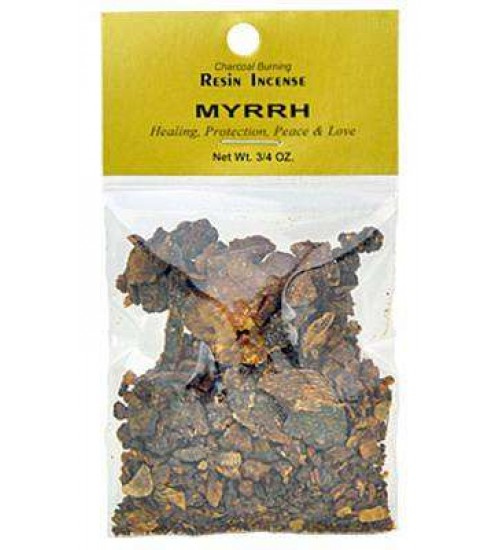 Myrrh Select Resin Incense at All Wicca, Wiccan Altar Supplies, All Wicca Books, Pagan Jewelry, Wiccan Statues