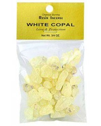 Copal White Resin Incense All Wicca Store Magickal Supplies Wiccan Supplies, Wicca Books, Pagan Jewelry, Altar Statues