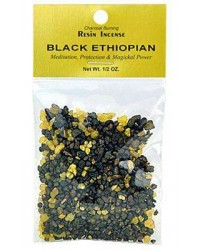 Ethiopian Black Resin Incense All Wicca Store Magickal Supplies Wiccan Supplies, Wicca Books, Pagan Jewelry, Altar Statues