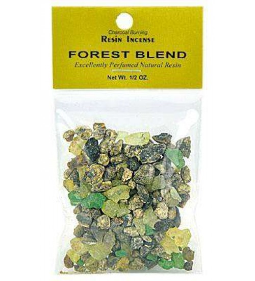 Forest Blend Resin Incense at All Wicca, Wiccan Altar Supplies, All Wicca Books, Pagan Jewelry, Wiccan Statues