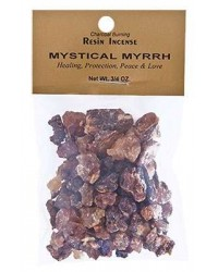 Mystical Myrrh Resin Incense All Wicca Store Magickal Supplies Wiccan Supplies, Wicca Books, Pagan Jewelry, Altar Statues