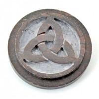 Triquetra SoapStone Altar Paten Tile