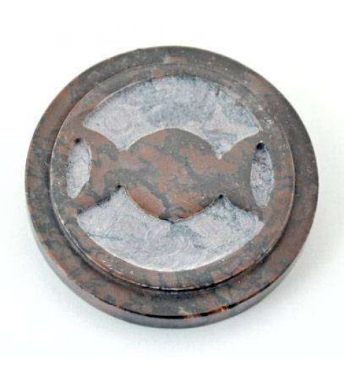 Triple Moon SoapStone Altar Paten Tile at All Wicca Magickal Supplies, Wiccan Supplies, Wicca Books, Pagan Jewelry, Altar Statues