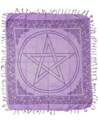 Purple Pentagram Altar Cloth All Wicca Store Magickal Supplies Wiccan Supplies, Wicca Books, Pagan Jewelry, Altar Statues