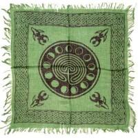 Celtic Earth Moon Phase Altar Cloth
