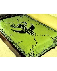 Nile Moon Goddess Green Tapestry All Wicca Magickal Supplies Wiccan Supplies, Wicca Books, Pagan Jewelry, Altar Statues