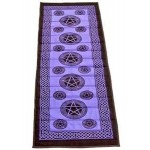 Pentacle Purple Cotton Yoga Mat