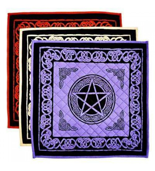 Pentacle Cotton Meditation Mats Wiccan Yoga