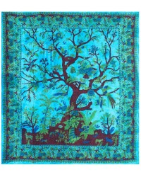 Tree of Life Blue Double Tapestry All Wicca Store Magickal Supplies Wiccan Supplies, Wicca Books, Pagan Jewelry, Altar Statues