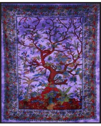 Tree of Life Purple Double Tapestry All Wicca Store Magickal Supplies Wiccan Supplies, Wicca Books, Pagan Jewelry, Altar Statues