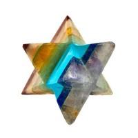 7 Chakra Merkaba Gemstone Star