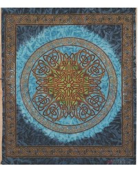 Celtic Print Tapestry All Wicca Store Magickal Supplies Wiccan Supplies, Wicca Books, Pagan Jewelry, Altar Statues