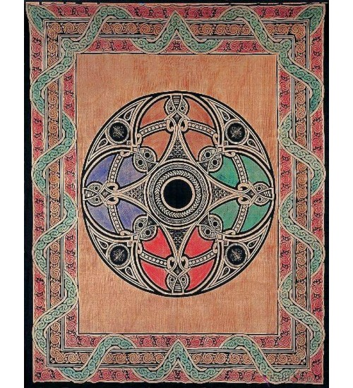 Celtic Print Handloomed Woven Tapestry at All Wicca Store Magickal Supplies, Wiccan Supplies, Wicca Books, Pagan Jewelry, Altar Statues