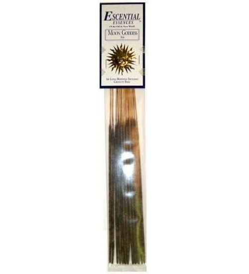 Moon Goddess Escential Essences Incense at All Wicca Store Magickal Supplies, Wiccan Supplies, Wicca Books, Pagan Jewelry, Altar Statues