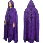 Purple Moon Goddess Hooded Cloak