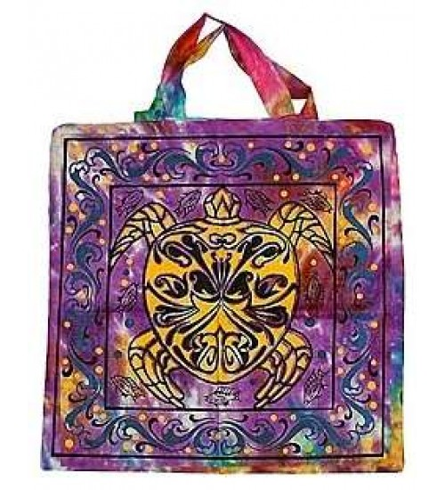 Turtle Cotton Tote Bag at All Wicca Store Magickal Supplies, Wiccan Supplies, Wicca Books, Pagan Jewelry, Altar Statues