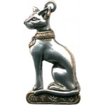 Bast Egyptian Cat Necklace