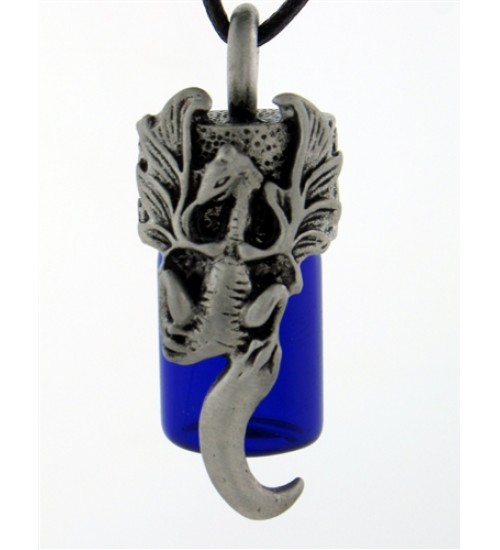 Dragon Essential Oil Bottle Vial Necklace at All Wicca Magickal Supplies, Wiccan Supplies, Wicca Books, Pagan Jewelry, Altar Statues