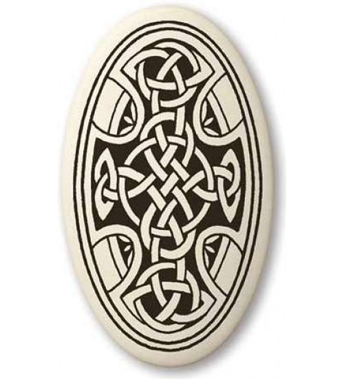 Celtic Cross Oval Porcelain Necklace at All Wicca Store Magickal Supplies, Wiccan Supplies, Wicca Books, Pagan Jewelry, Altar Statues