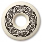 Birds Celtic Porcelain Annulus Necklace