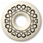 Celtic Heart Annulus Porcelain Necklace