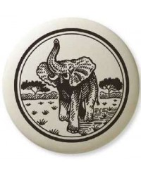 African Elephant Pathfinder Animal Totem Porcelain Necklace All Wicca Store Magickal Supplies Wiccan Supplies, Wicca Books, Pagan Jewelry, Altar Statues