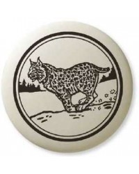 Bobcat Pathfinder Animal Totem Porcelain Necklace All Wicca Store Magickal Supplies Wiccan Supplies, Wicca Books, Pagan Jewelry, Altar Statues