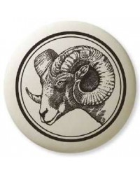 Big Horn Sheep Pathfinder Animal Totem Porcelain Necklace All Wicca Store Magickal Supplies Wiccan Supplies, Wicca Books, Pagan Jewelry, Altar Statues