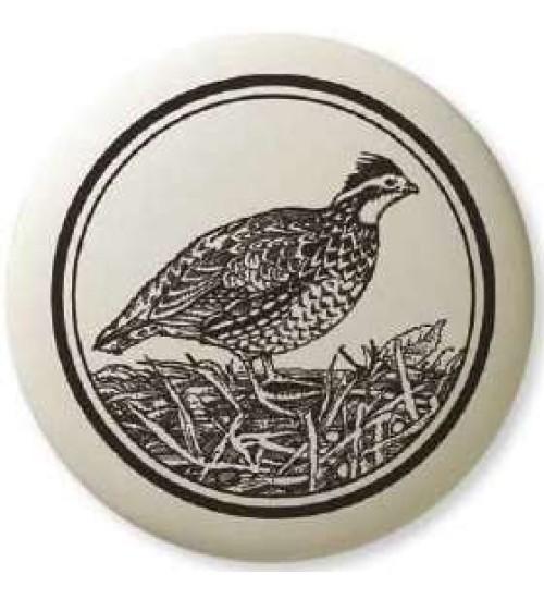 Bobwhite Pathfinder Animal Totem Porcelain Necklace