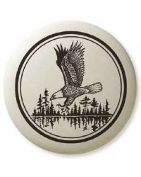 Bald Eagle Soaring Pathfinder Totem Porcelain Necklace All Wicca Store Magickal Supplies Wiccan Supplies, Wicca Books, Pagan Jewelry, Altar Statues