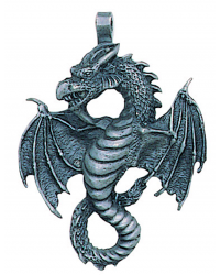 Air Dragon Pewter Necklace All Wicca Store Magickal Supplies Wiccan Supplies, Wicca Books, Pagan Jewelry, Altar Statues