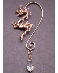 Bronze Dragon Ear Wrap with Crystal All Wicca Magickal Supplies Wiccan Supplies, Wicca Books, Pagan Jewelry, Altar Statues