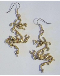 Bronze Dragon Earring Pair All Wicca Store Magickal Supplies Wiccan Supplies, Wicca Books, Pagan Jewelry, Altar Statues