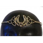 Celtic Moon Triquetra Bronze Wiccan Circlet
