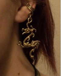 Bronze Dragon Ear Cuff All Wicca Magickal Supplies Wiccan Supplies, Wicca Books, Pagan Jewelry, Altar Statues