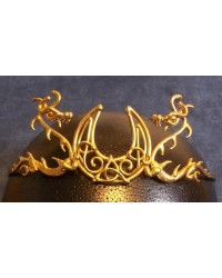 Dragon Moon Bronze Draconian Wiccan Circlet All Wicca Store Magickal Supplies Wiccan Supplies, Wicca Books, Pagan Jewelry, Altar Statues