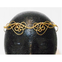 Iona Elaborate Twisted Bronze Circlet All Wicca Wiccan Altar Supplies, Books, Jewelry, Statues