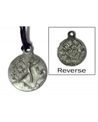 Aquarius Zodiac Pewter Necklace All Wicca Magickal Supplies Wiccan Supplies, Wicca Books, Pagan Jewelry, Altar Statues