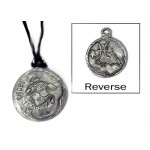 Pisces Zodiac Pewter Necklace
