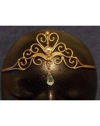 Heart Crystal Bronze Hand Made Tiara All Wicca Store Magickal Supplies Wiccan Supplies, Wicca Books, Pagan Jewelry, Altar Statues