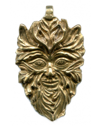 Green Man of the Woods God Pendant All Wicca Store Magickal Supplies Wiccan Supplies, Wicca Books, Pagan Jewelry, Altar Statues