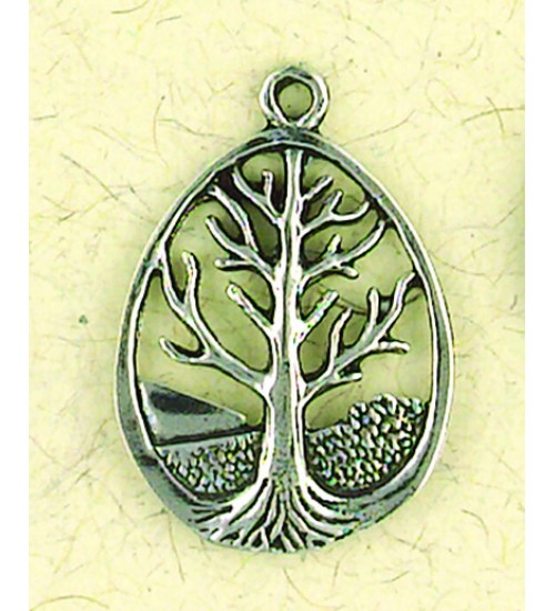 Tree of Life Pewter Necklace at All Wicca Store Magickal Supplies, Wiccan Supplies, Wicca Books, Pagan Jewelry, Altar Statues