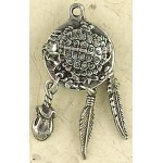 Turtle Animal Spirit Pewter Necklace