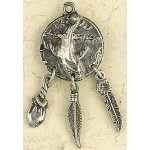 Whale Animal Spirit Pewter Necklace