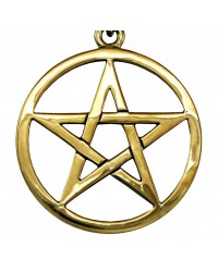 Bronze Pentacle Necklace All Wicca Store Magickal Supplies Wiccan Supplies, Wicca Books, Pagan Jewelry, Altar Statues