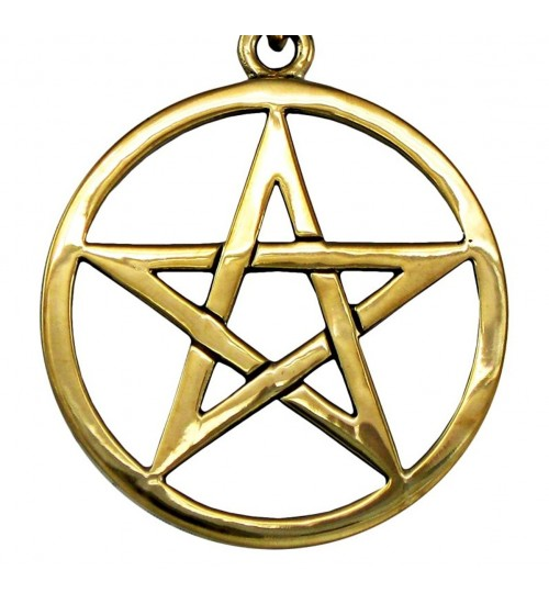 Bronze Pentacle Necklace at All Wicca Store Magickal Supplies, Wiccan Supplies, Wicca Books, Pagan Jewelry, Altar Statues