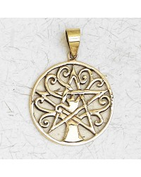 Pentacle Tree of Life Bronze Necklace All Wicca Magickal Supplies Wiccan Supplies, Wicca Books, Pagan Jewelry, Altar Statues