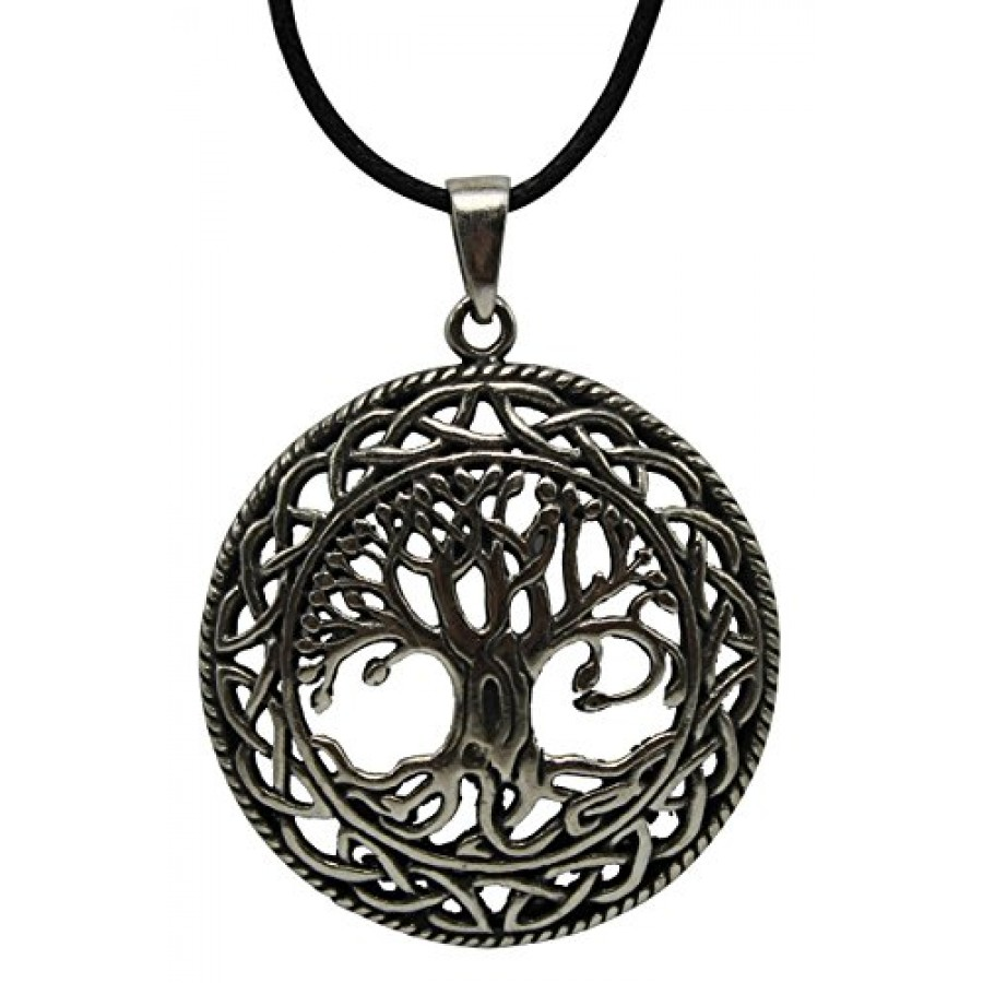 p silver necklaces m sterling co circle necklace shane of tree life in