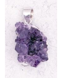Amethyst Natural Druzy Pendant All Wicca Store Magickal Supplies Wiccan Supplies, Wicca Books, Pagan Jewelry, Altar Statues