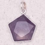Amethyst 5 Point Prisma Star Pendant